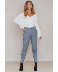 NA-KD - Loose Fit Cotton Trousers - Lyst