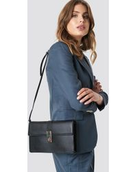 Mango - Chateau Bag Black - Lyst