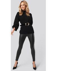 Trendyol Faux Leather Leggings - Noir