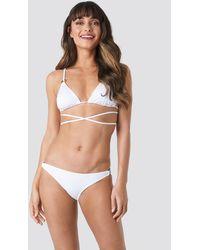 Trendyol Ess Bikini Bottom - Weiß