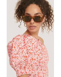 Mango Copper Cassie Sunglasses - Brown