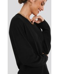 NA-KD - Light Knitted Sweater - Lyst