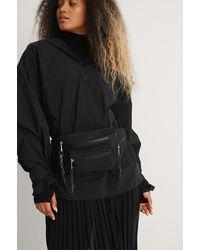 NA-KD Flow Hip Pack Bag - Noir