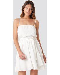 Trendyol Mini Strap Mini Dress - Wit