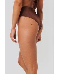 Trendyol Brown Ring Detail Bikini Bottom