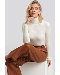 Trendyol Ribbed Turtleneck Sweater - Meerkleurig