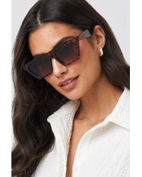 be615c5c75 Tom Ford Bardot Sharp Cat-eye Sunglasses in Black - Lyst