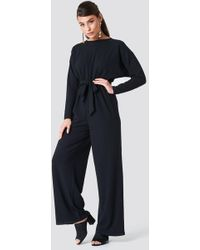 NA-KD - Loose Fit Jumpsuit - Lyst