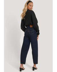 Levi's Jeans Met Hoge Taille - Blauw