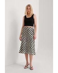 Mango Black Saber Skirt