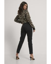 Mango Mom Jeans - Zwart