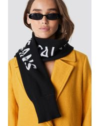 Calvin Klein - J Cuff Scarf Black Beauty - Lyst