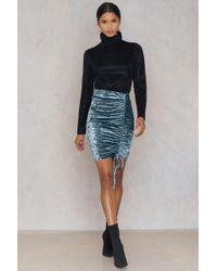 Dance & Marvel - Sequins Mini Skirt - Lyst