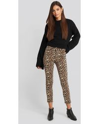 Trendyol High Belly Skinny Jeans - Noir