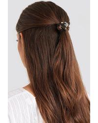 NA-KD Black Mini Dice Detailed Hairbands (2-pack)