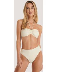 NA-KD White,offwhite Maxi High Waist Bikini Panty