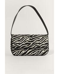 NA-KD Multicolor Zebra Print Shoulder Bag