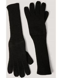 NA-KD Accessories Handschuh - Schwarz