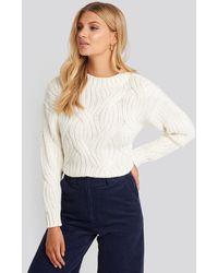 Trendyol Yol Knit Detail Sweater - Meerkleurig