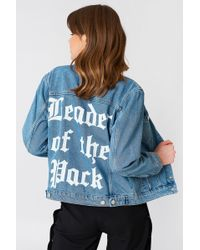 NA-KD | Leader Of The Pack Denim Jacket | Lyst