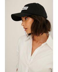 Calvin Klein Organic Institutional Cap - Noir