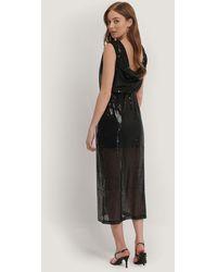 Mango Black Polar-a Dress