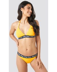 Fila Sally Bikini Top X Na-kd - Geel