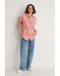 Trendyol Pink Miranda Denim Jacket