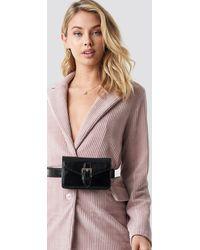 NA-KD Buckle Detail Belt Bag - Noir