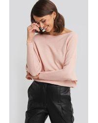 Trendyol Bat Sleeve Sweater - Pink