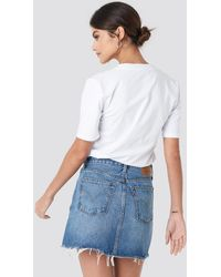 Levi's Deconstructed Skirt - Blauw
