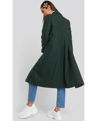 Mango Green Timver Coat
