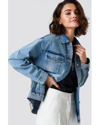 Cheap Monday - Upsize Jacket Blue - Lyst
