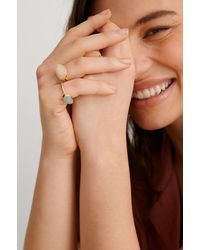 NA-KD Multicolour 3-pack Colored Stone Rings