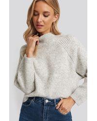 Mango Comfort Sweater - Grijs