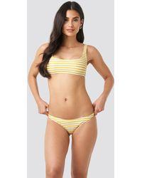 Mango Venecia Bikini Bottom - Geel