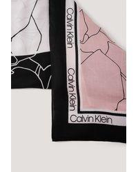 Calvin Klein Sjaal - Zwart