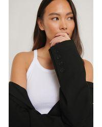 NA-KD - Basic Unterhemd Mit Rundhalsausschnitt - Lyst