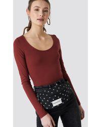 Calvin Klein - Essential Mono Cp Waistbag Black/white - Lyst