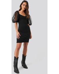 Mango Bulloves Dress - Zwart