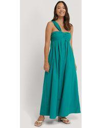 Mango Green Padova Dress
