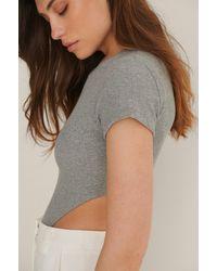 Trendyol Grey High Cut Body
