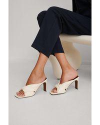 NA-KD Shoes Sandalen Met Hak En Geknoopte Bandjes - Meerkleurig