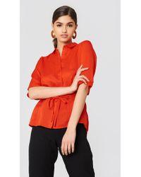 Storm&Marie - Divya Shirt Flame Scarlet - Lyst