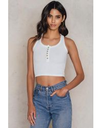 Toby Heart Ginger - Bailey Ribbed Top - Lyst