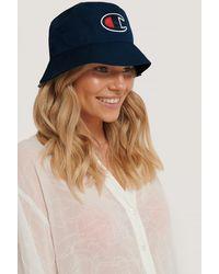 Champion Bucket Cap - Blauw