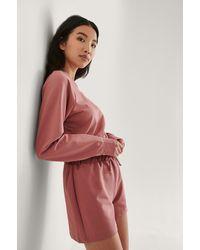 Trendyol Loungewear Set - Roze