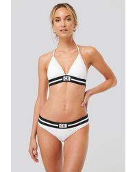 Calvin Klein Bikinitop - Wit