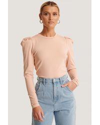 Sisters Point Pink Perle Ls Top