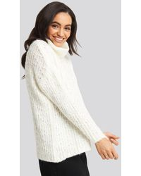 Trendyol Turtleneck Knitted Sweater - Wit